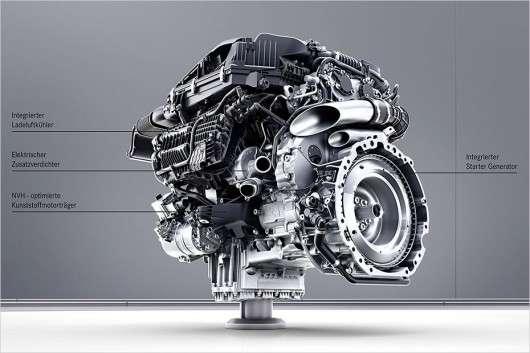 Нові бензинові і дизельні двигуни для Mercedes S-Class 2017 року