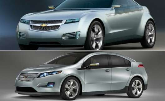 Топ-10 серійних автомобілів, які не схожі на свої концепт-кари