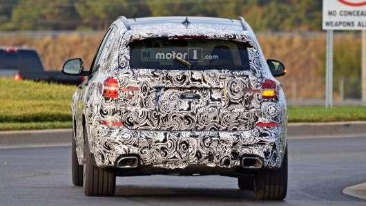 Шпигунські фотографії 2018 BMW X3