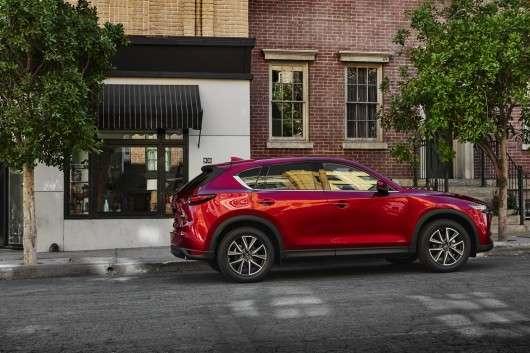 Mazda CX-5 другого покоління, премєра на автосалоні в Лос-Анджелесі