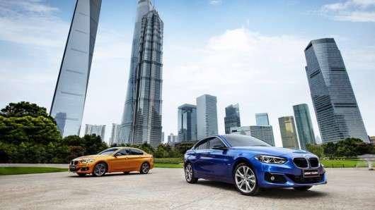Китайська БМВ 1-Серії, дебют седана на автосалоні в Гуанчджоу 2016 року