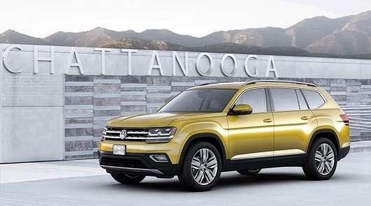 Volkswagen Atlas приїде в Росію
