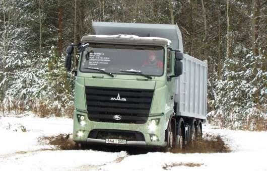 Вантажівка МАЗ поїде в Європу
