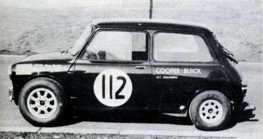 Один з найбільш незвичайних Mini Cooper з двигуном від Бьюїк