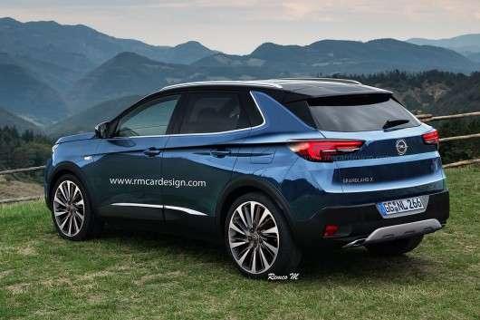Opel готує новий кросовер, зявилися перші фотографії
