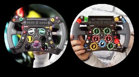 Еволюція у Формулі-1: Як змінювалося рульове колесо