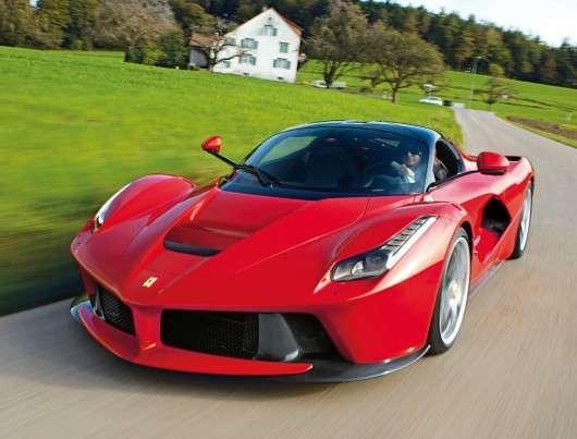 Ferrari LaFerrari став найдорожчим купе пішли з молотка