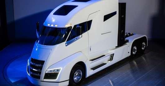 Премєра: перший в світі воднево-електричний вантажівка представлений в США