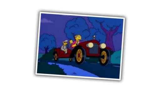 Автомобілі використовуються в Сімпсонах