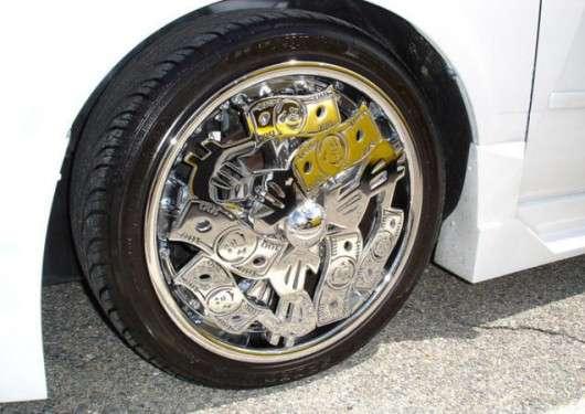 Найпотворніші колеса автомобіля