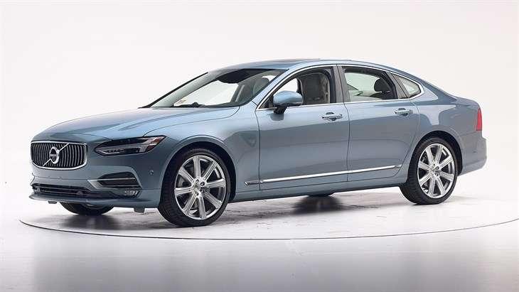 Краш-тест 2017 Volvo S90