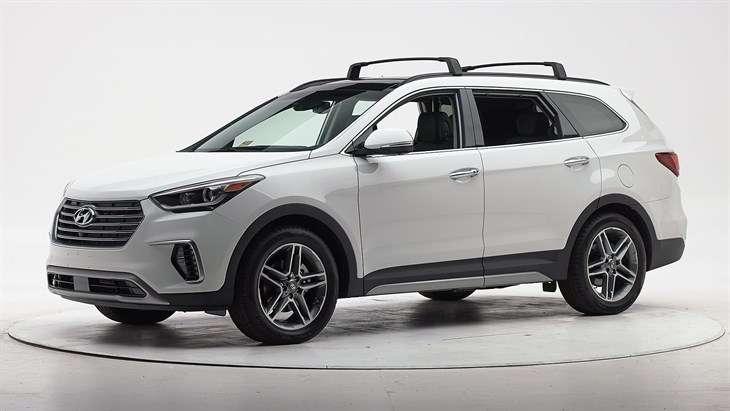 Краш-тест 2017 Hyundai Santa Fe