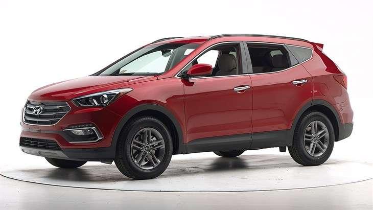 Краш-тест 2017 Hyundai Santa Fe Sport