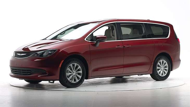 Краш-тест 2017 Chrysler Pacifica