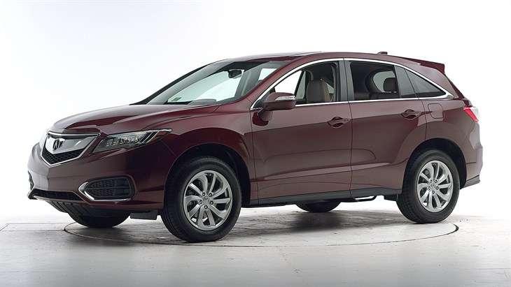 Краш-тест 2017 Acura RDX
