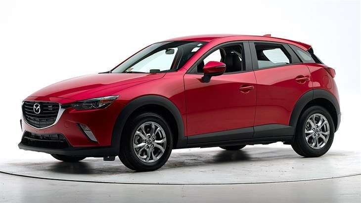 Краш-тест 2017 Mazda CX-3