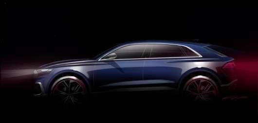 Представлений концепт флагманського позашляховика Audi Q8