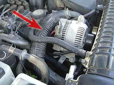 Працює термостат в автомобілі