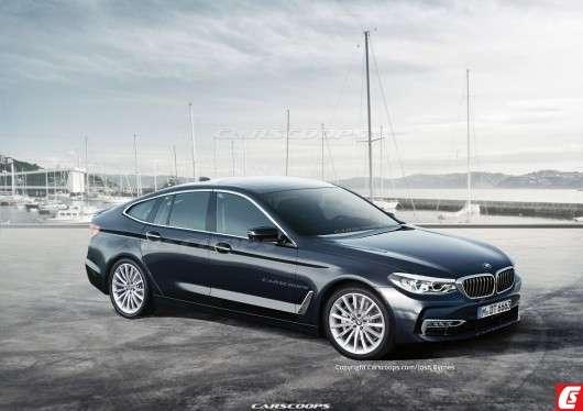 Автомобілі майбутнього: як буде виглядати 2018 BMW 6-Series GT