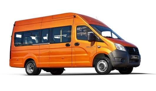 Почалися продажі нового вітчизняного мікроавтобуса «Газель-Next»