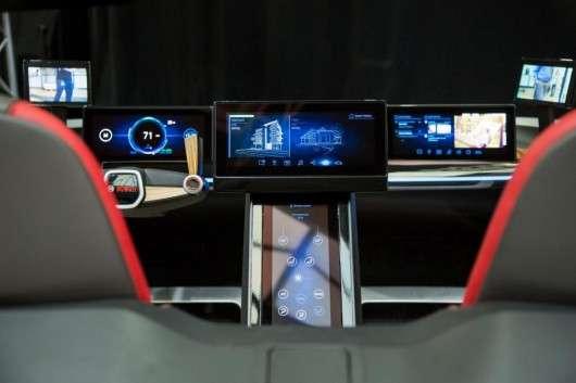 CES 2017: Футуристична концепція інтерєру автомобіля від Bosch
