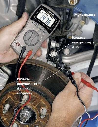 Загорівся ABS: Діагностика несправності гальмівної системи