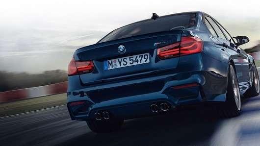 Показана рестайлінгова версія 2018 BMW M3