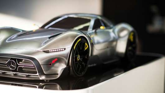 Витік секретних фотографій Mercedes Project One