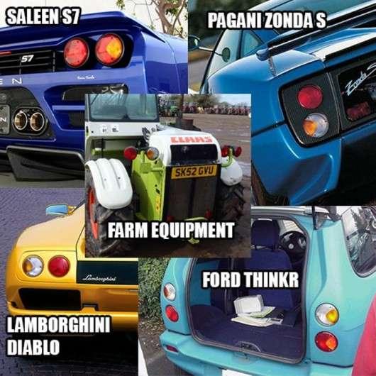 Десять компонентів з дорогих автомобілів, які були взяті з дешевих