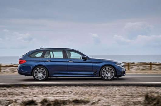 Перші фотографії нового універсала 2017 BMW 5 Series: Ексклюзив