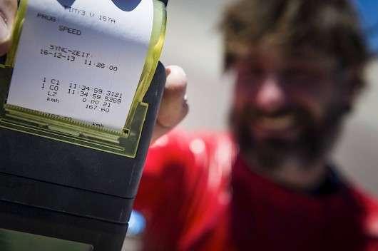 Спортсмен розігнався до 160 км/год на стандартному маунтінбайку: Відео