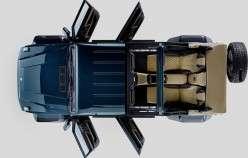 Mercedes-Maybach G650 Landaulet з V12 і задніми сидіннями від S-Class: Офіційні фотографії