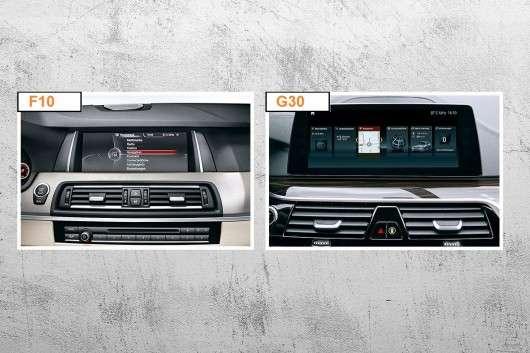 BMW 5-серії (2017) G30/G31 проти старої F10