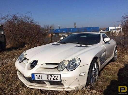 У Чехії виявлений кинутий Mercedes-Benz SLR McLaren