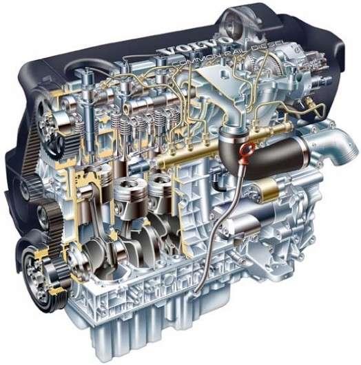 Переваги пятицилиндрового двигуна