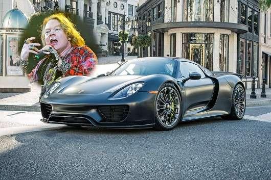 Автомобілі знаменитостей: Огляд