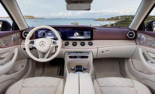 Офіційно: Новий Кабріолет Mercedes-Benz E-Class 2018 року