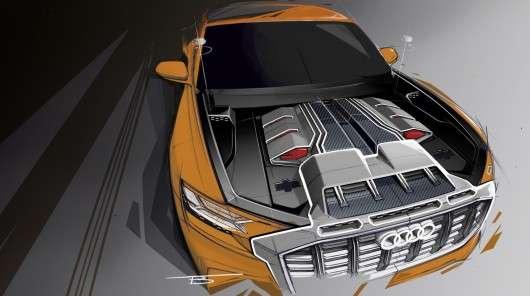 Нова Audi Q8: Кросовер потужністю 476 к. с. вже скоро
