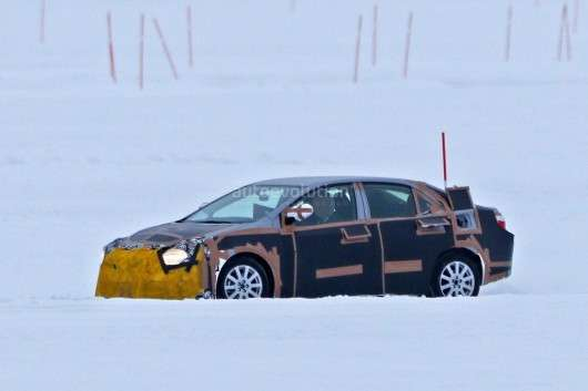 2019 Toyota Corolla помічена на зимових тестах