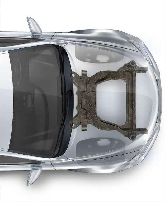 Форд розробив перший у світі карбоновий підрамник для серійних автомобілів