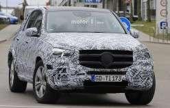 2019 Mercedes GLE-Class, фотографії екстерєру та інтерєру
