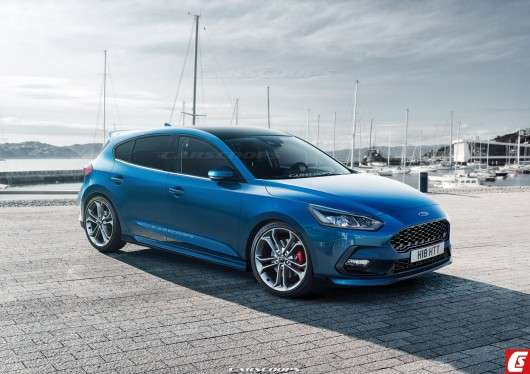 Перша технічна інформація про зарядженому 2018 Ford Focus ST [Фото, дані, дата випуску]