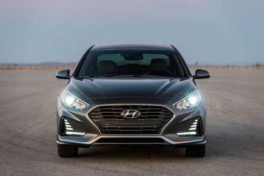 Оновлений 2018 Hyundai Sonata приїхав в Нью-Йорк