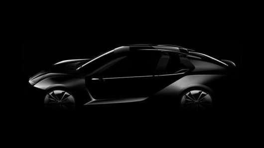 Qoros K-EV Concept, електрокар від Koenigsegg і Qoros, перше фото концепту