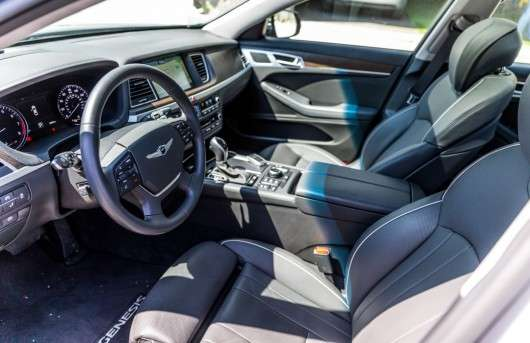 2017 Genesis G80 V8: Тест-драйв