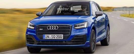 Як будуть виглядати Audi SQ2 і RS Q2, правдоподібні рендеринг фотографії