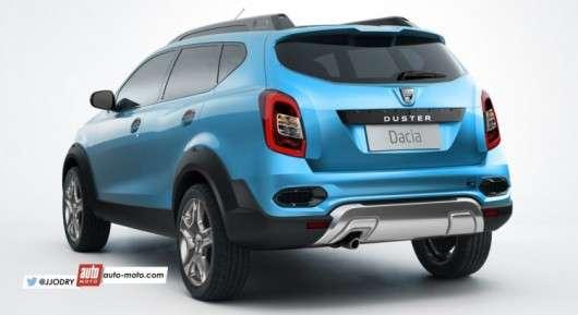 Новий Renault Duster: Все що відомо про нової моделі