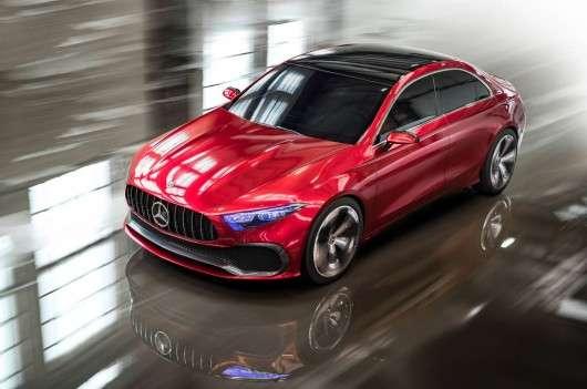 Концепт-кар нового Мерседес А-класу: Погляд на майбутній дизайн