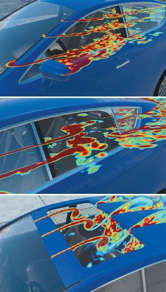 Чому при відкритих вікнах в машині зявляється дивний звук