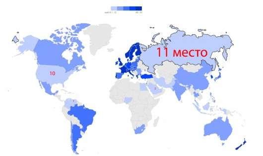 Блумберг підрахував, де бензин дешевше, в Росії або в США